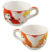 Disney Princess Large Coffee Mug - Soup Bowl Cup