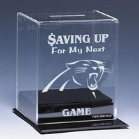 Carolina Panthers NFL Coin Bank