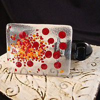Red and Orange Polka Dot Night Light