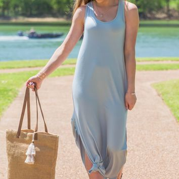 Sea Foam Queen Maxi Dress