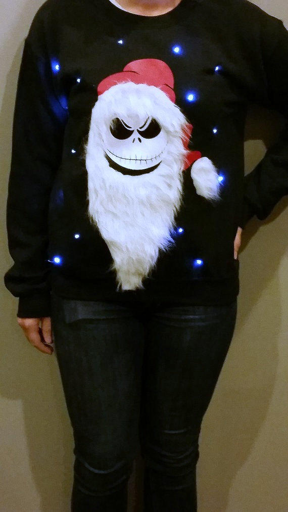 Light Up Ugly Christmas Sweater Jack From Lightupsweaters On