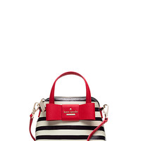 Kate Spade Julia Street Stripe Mini Maise Rich