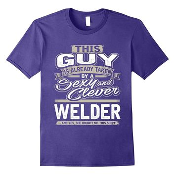 Welder Shirt Gift For Boyfriend Husband Fiance Lover 1