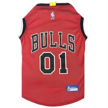 PEAPYW9 Chicago Bulls Pet Jersey