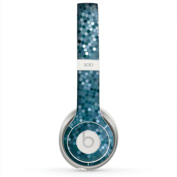 The Circle Pattern Silver Sequence Skin for the Beats by Dre Solo 2 Headphones