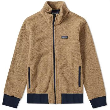Khaki Fleece Jacket by Patagonia