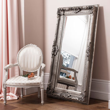 Costco UK - Gallery Valois Silver Leaner Mirror 72 x 38 Inch