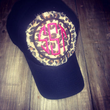 Patch Monogrammed Hat