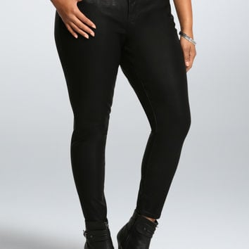 Torrid Premium Faux Leather Jegging - Black (Short)
