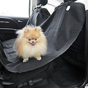 """Pet Dog Car Seat Cover for Rear Bench Seat - Waterproof and Washable - 58"""" x 57"""""""