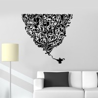 Wall Decal Lamp Jinn Dreams Decor for Bedroom Vinyl Stickers Unique Gift (ig2930)