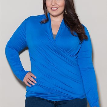 Plus Size Tops | Eternity Wrap Cardigan | Swakdesigns.com
