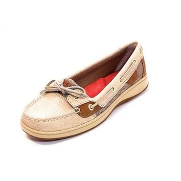 Sperry Top-Sider Angelfish - Natural Sparkle / Suede