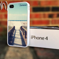 iPhone 4 case iPhone 4S Beach Ocean Personalized iPhone by IFNH
