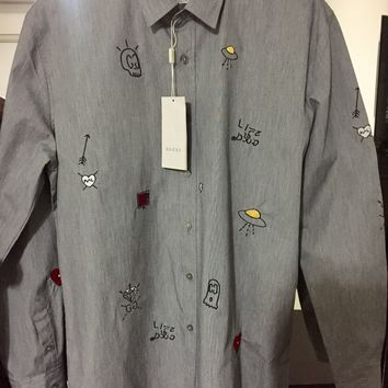 Gucci Shirt 'Size 2XL' (Rare Alessandro Michele Gucci Ghost Shirt)