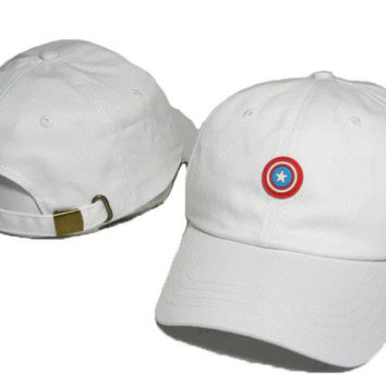 Captain America Embroidered Baseball Cap Hat