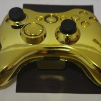 Gold Chrome XBOX 360 Controller Shell Kit