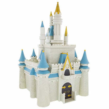 Disney Parks Cinderella Castle Monorail Toy Set Accessory New With Box