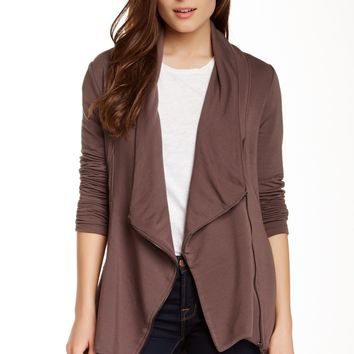 Heather By Bordeaux | Heather by Bordeaux Asymmetrical Zip Jacket | Nordstrom Rack