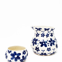 Blue Blossom Ceramic Set