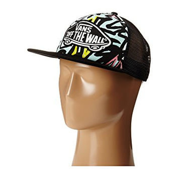 Vans Beach Girl Trucker Hat,Blue Glow,One Size