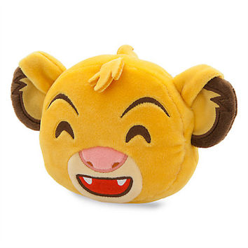 Disney Parks The Lion King Simba Emoji Plush New with Tags