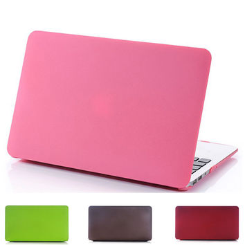 "Laptop Case for Macbook Air 11 A1370 A1465 Capa Para Matte Hard Plastic Protect Laptop Shell for Macbook Air 13"" A1369 A1466"