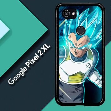 Vegeta Super Saiyan God Blue Z5039 Google Pixel 2 XL Custom Case
