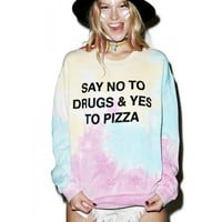 NO TO DRUGS SWEATSHIRT