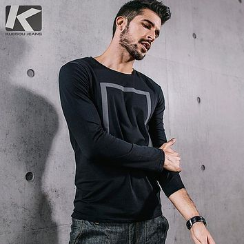 Autumn Men long sleeved t shirt for men