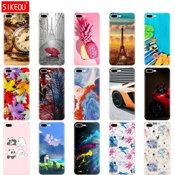 Soft Silicone For IPhone 8 Case IPhone8 Case TPU full 360 protective back Cover apple IPhone 8 Plus Case For IPhone 8plus Phone