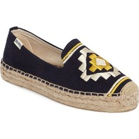 Soludos Embroidered Espadrille (Women) | Nordstrom