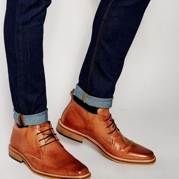 Dune Leather Montenegro Chukka Boots