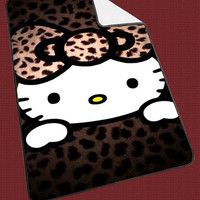 Cute Hello Kitty for Kids Blanket, Fleece Blanket Cute and Awesome Blanket for your bedding, Blanket fleece**