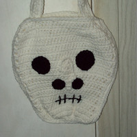 Skeleton Tote Skull Bag Kids Trick Or Treat Bag