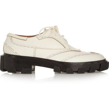 ONETOW balenciaga derby leather brogues 2