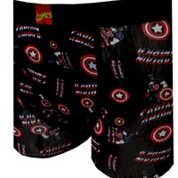 Marvel Comics Captain America Standing Proud Boxer Brief