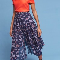 Skirted Waterfront Pants