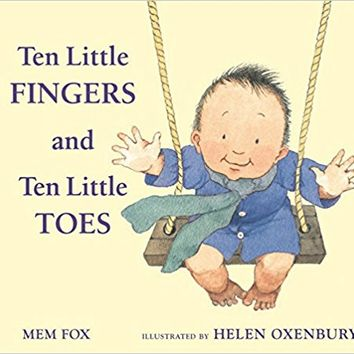 Ten Little Fingers and Ten Little Toes padded board book Board book – August 23, 2010