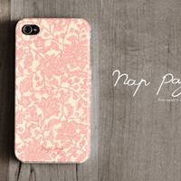 Apple iphone case for iphone iphone 3Gs iphone 4 iphone 4s iPhone 5  : Abstract pink flower