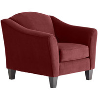 Abbie Armchair - Berry