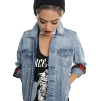 Blackheart Light Indigo Girls Denim Jacket