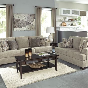 48501 - The Barrish Living Room Set - Taupe