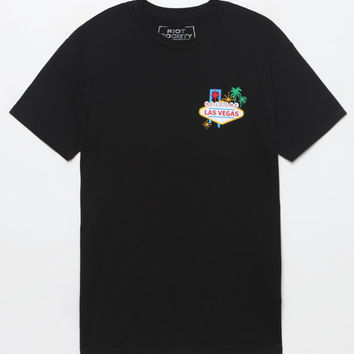 Riot Society Las Vegas T-Shirt at PacSun.com
