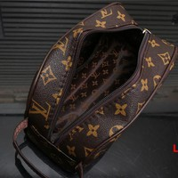 LV Women Fashion makeup bag  Cosmetic bag Zipper Satchel B-YJBD-2