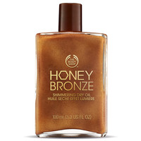 Honey Bronze Shimmering Dry Oil - Honey Kissed | The Body Shop ®