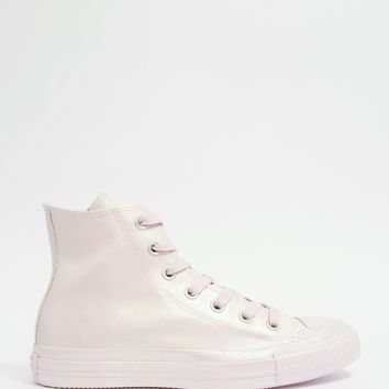 Converse Pearlised Rubber Chuck Taylor Hi Top Trainers