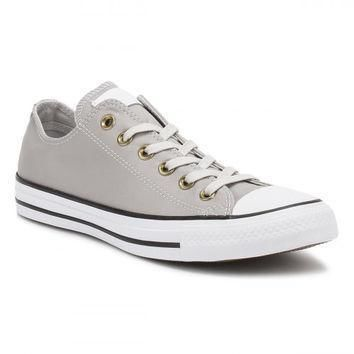 converse all star chuck taylor mens ox mouse white black trainers