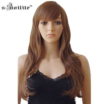 Long Curly Heat Resistant Synthetic Hair Wigs