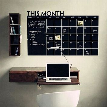 Magnetic Month Planner Wall Sticker 60cm x 92cm